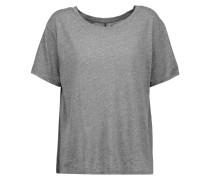 Stretch-jersey T-shirt Anthrazit
