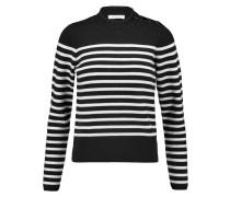 Saba Striped Knitted Sweater Schwarz