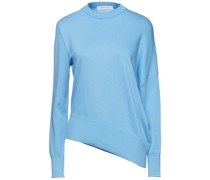 Asymmetric Frayed Cotton And Cashmere-blend Sweater