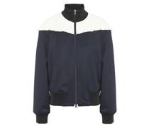 Faux Pearl-embellished Jersey Track Jacket