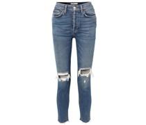 Originals High-rise Ankle Crop Skinny Jeans in Distressed-optik