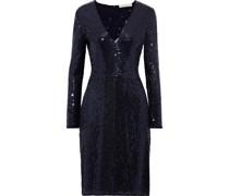 Sequined Chiffon Dress