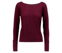 Shaw Cashmere Sweater Burgunder