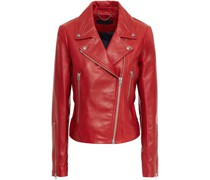 Mack Leather Biker Jacket