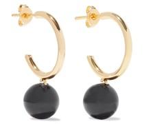 18-karat Gold-plated Swarovski Pearl Earrings