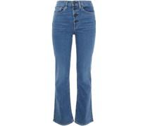 High-rise Slim-leg Jeans