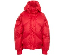 Dunlope Quilted Shell Hooded Down Coat