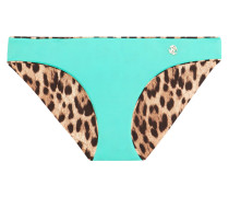 Mid-rise Reversible Bikini Briefs Jade