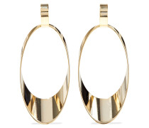 -plated Hoop Earrings