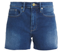 Le Brigette Faded Denim Shorts