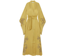 Woman Robes Mustard