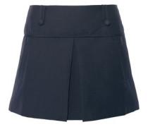Grenoble stretch cotton-blend mini skirt