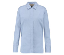 Vintana Cotton-poplin Shirt Himmelblau