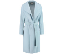 Wool-blend Coat Himmelblau