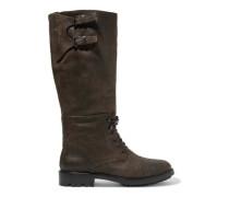 Trailmaster leather knee boots