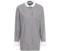 Carline Gestreiftes Hemd aus Baumwollpopeline