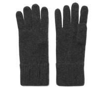 Cashmere Gloves Schiefer