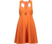 Dina cutout crepe mini dress