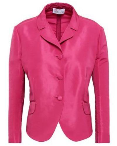 Woman Faille Jacket Fuchsia