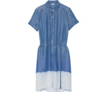 Sandollar ombré Tencel shirt dress
