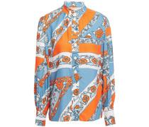 Floral-jacquard Shirt