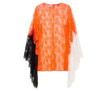 Color-block Lace Top