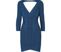 Bandage Mini Dress Blau