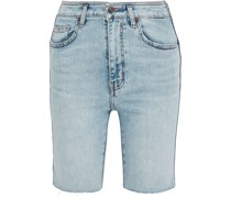 The Truby Virens Jeansshorts in Distressed-optik
