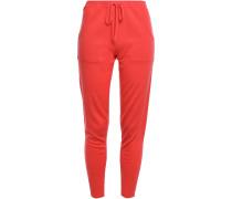 Futile Astucieux Wool And Cashmere-blend Pajama Pants