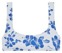 The Elle Bikini-oberteil mit Floralem Print