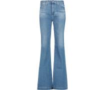 Janis High-rise Flared Jeans Heller Denim