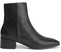 Aslen Leather Ankle Boots