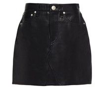 Itty Bitty Leather Mini Skirt