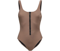 The Anne Marie Zip-detailed Swimsuit