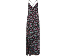 Dakota floral-print chiffon maxi dress