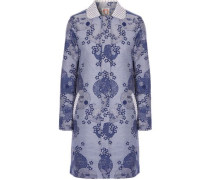 Daphne embellished cotton-blend jacquard coat