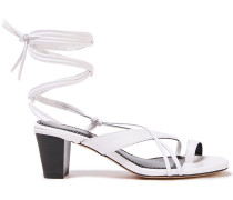 Ficelly Leather Sandals