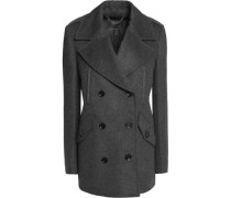 Dorrington double-breasted wool and cashmere-blend coat