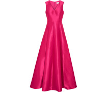 Faille Gown Magenta