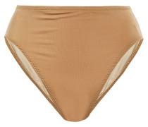 Underwire High-rise Bikini Briefs