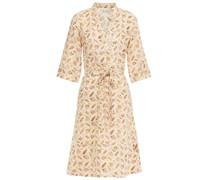 Nova Kleid aus Leinen mit Print