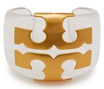 Gold-tone Resin Cuff
