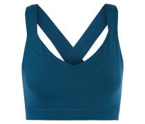 Edie Stretch-jersey Bra Top Kobaltblau