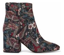 Taye metallic jacquard ankle boots