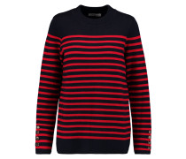 Smila Striped Sweater Rot