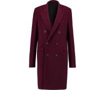 Malice Wool-blend Coat Burgunder