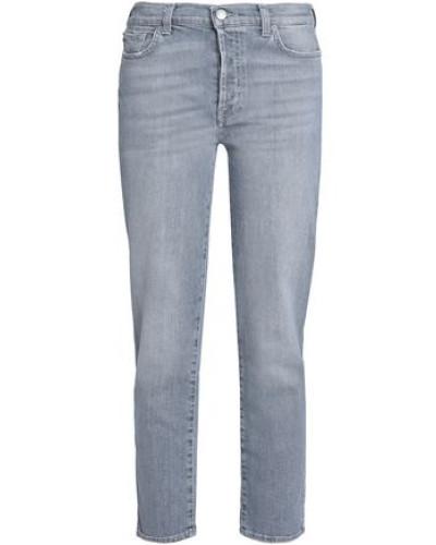 Edie Cropped High-rise Slim-leg Jeans Stone  3