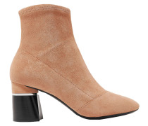Drum Stretch-suede Ankle Boots