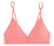 Before Sunrise cotton-blend jersey soft-cup triangle bra