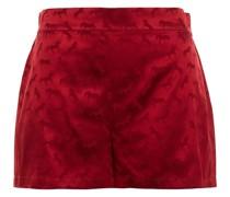 Gloria Sprinting Shorts aus Glänzendem Jacquard aus Einer Seidenmischung